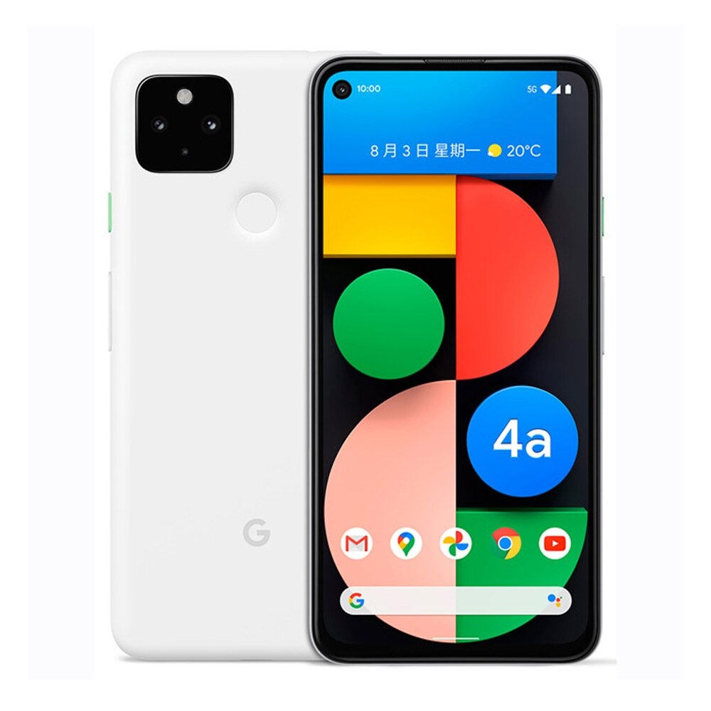 Google Pixel 4a 5G (6G/128G) 6.2吋智慧手機【白色】送玻璃貼+空壓殼