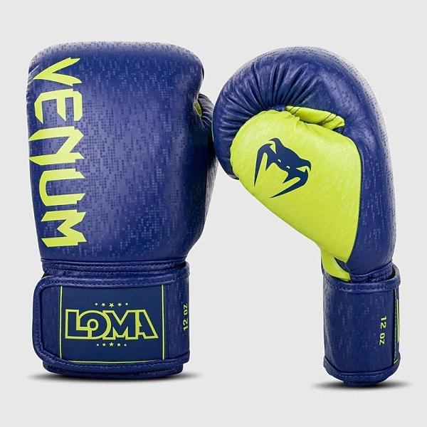 『VENUM旗艦館』VENUM 毒蛇 03942 Origins 拳擊手套 拳套 藍黃 Loma Edition
