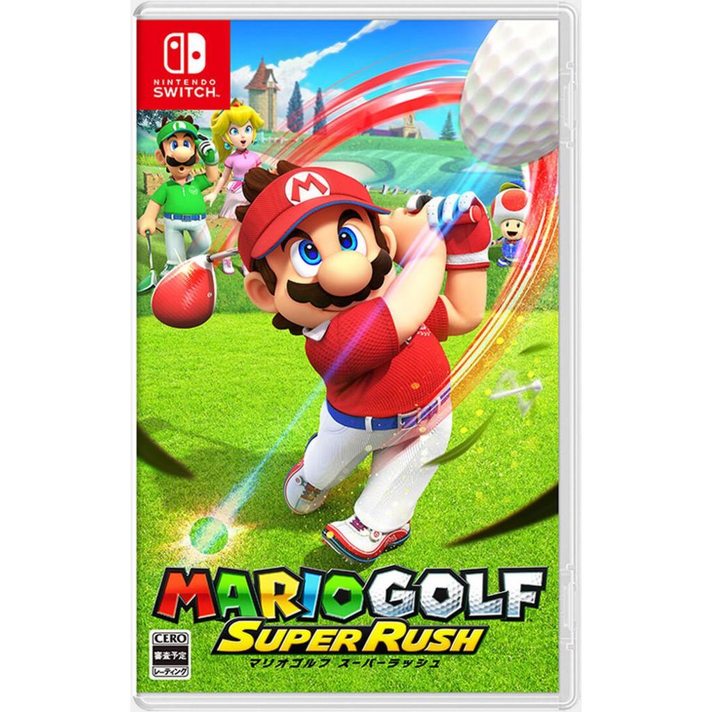 任天堂 NS Switch 瑪利歐高爾夫 超級衝衝衝 中文版 【預購6/25】