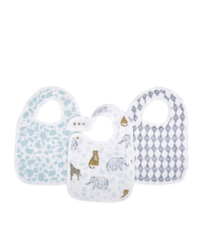 Aden + Anais Jungle Print Bib (Pack Of 3)