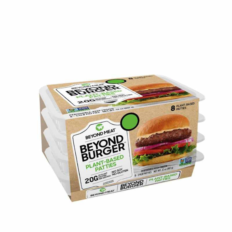 Beyond Meat 冷凍蔬食漢堡排 113公克 X 8入 (2組裝) [COSCO代購] W1338620