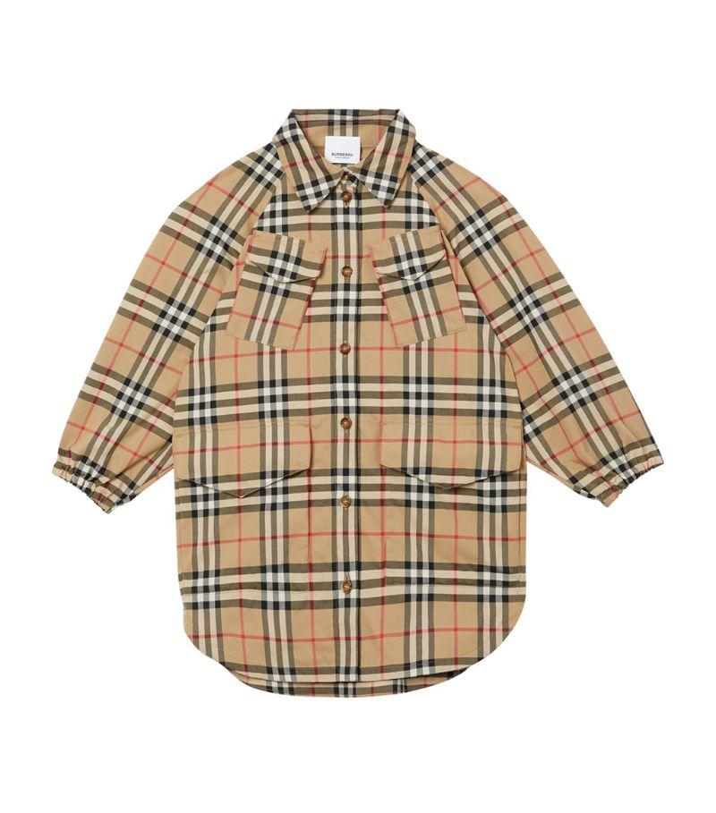 Burberry Kids Vintage Check Shirt Dress