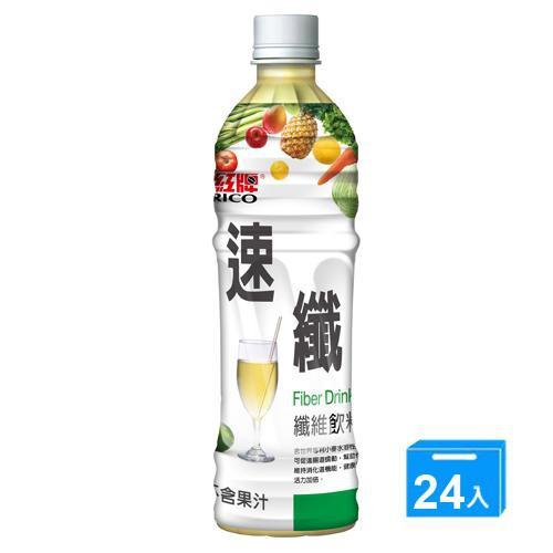 紅牌速纖纖維飲料495ml x 24入/箱【愛買】