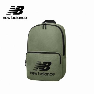 [New Balance]LOGO後背包_中性_墨綠_BG03208GCB4