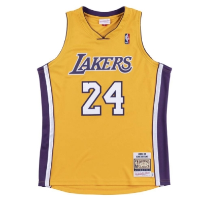 M&N Authentic球員版復古球衣 湖人隊 08-09 #24 Kobe Bryant