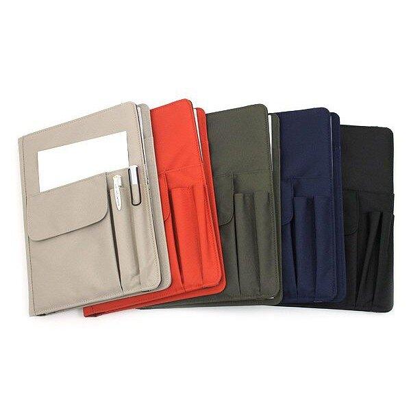 LIHIT LAB. N-1627 B5 / N-1647 A5 多功能筆記本收納包 耐磨防水 時尚萬用手冊 附筆記本
