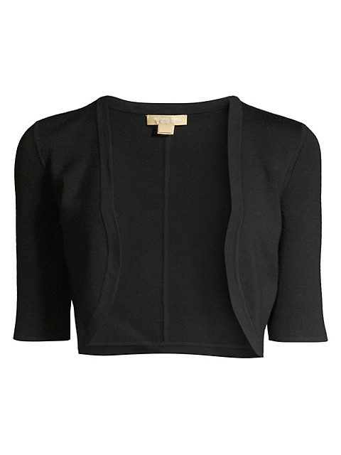 Merino Wool Cropped Shrug