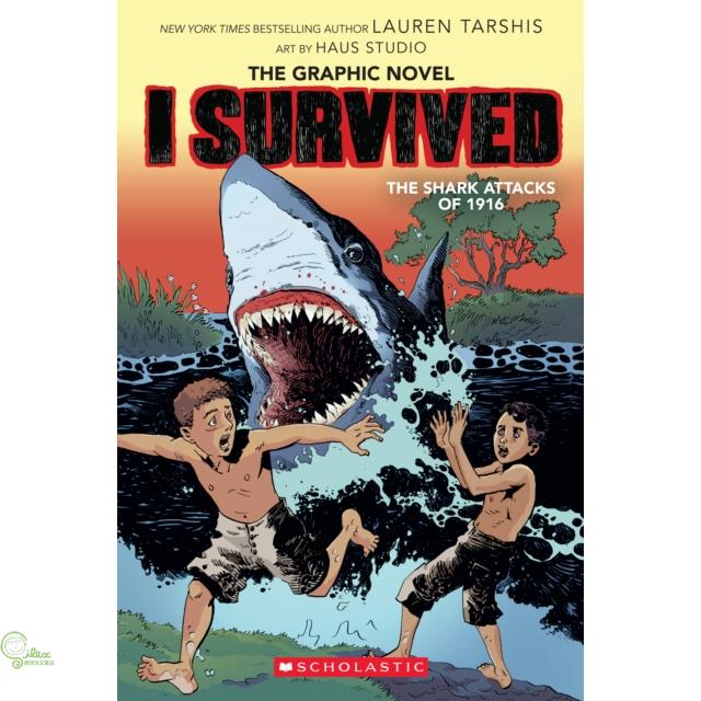 I Survived the Shark Attacks of 1916【禮筑外文書店】[73折]