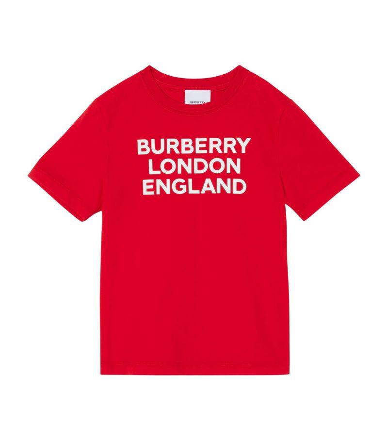 Burberry Kids Cotton Logo T-Shirt (3-12 Years)