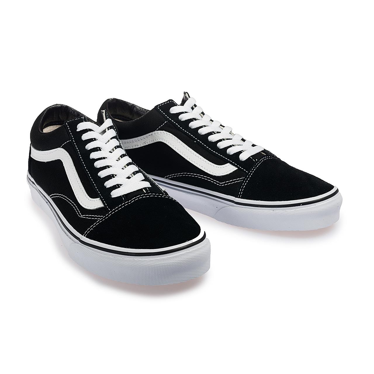 VANS - VN000D3HY28 OLD SKOOL 基本款 滑板鞋 帆布鞋 (黑白)