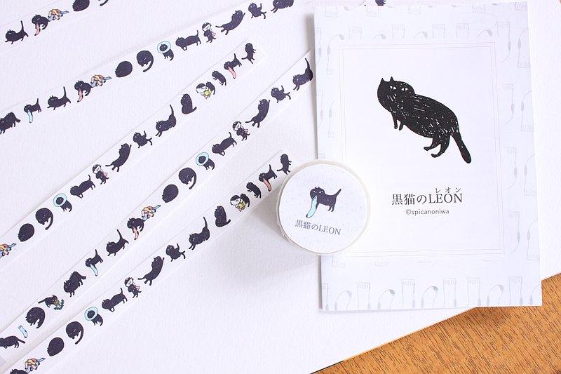 黑貓 LEON / 美紋紙