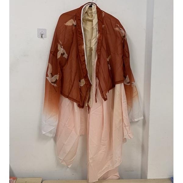 新款中國風兩件式表演服古裝服(F碼/777-9732)