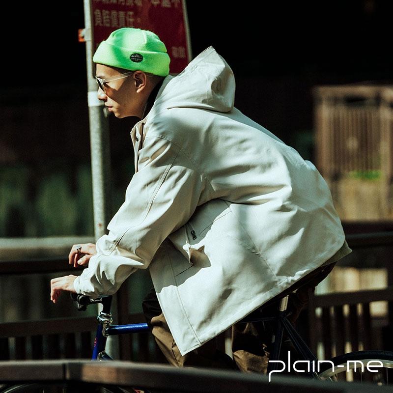 【plain-me】防潑水五口袋連帽外套 (五色) COP1191