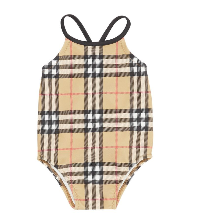 Burberry Kids Vintage Check Swimsuit (6-24 Months)