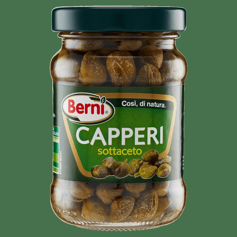 義大利Berni精選酸豆 CAPERS IN WINE VINEGAR 96g