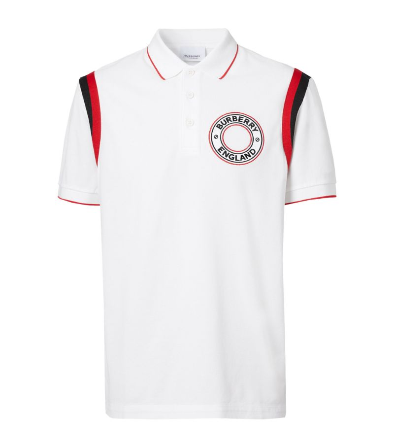 Burberry Cotton Logo Polo Shirt
