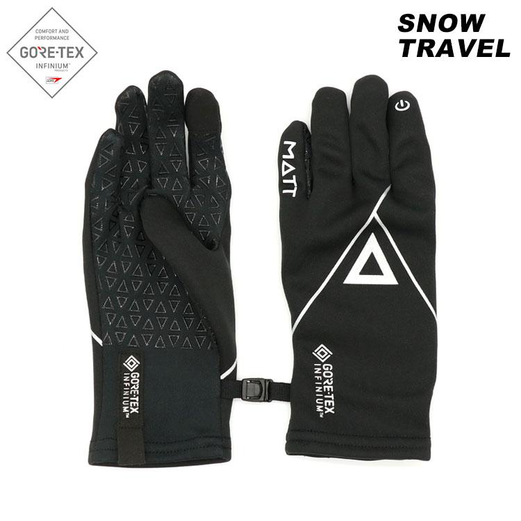 Snow Travel  Gore Tex Infinium 防風保暖觸控手套 AR-84 / 黑色 (M、L)