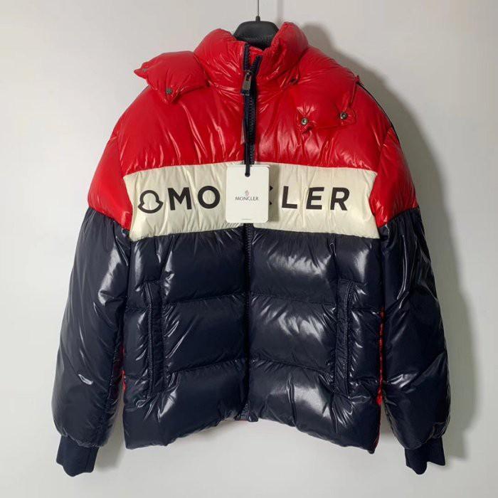Moncler 羽絨外套 男女可穿 夾克 拼色