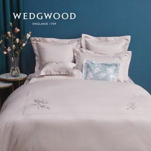 【WEDGWOOD】木蘭芳菲刺繡被套枕套組-雙人