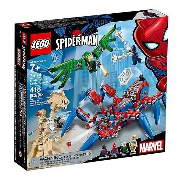 【南紡購物中心】【LEGO 樂高積木】超級英雄系列 -蜘蛛爬行者Spider-Man s Spider Crawler76114