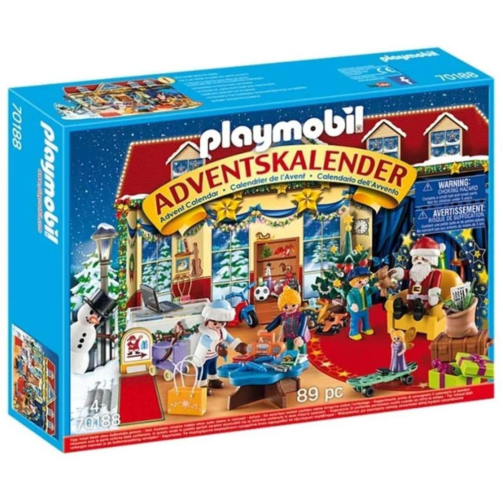 playmobil 聖誕倒數驚喜月曆 聖誕玩具店