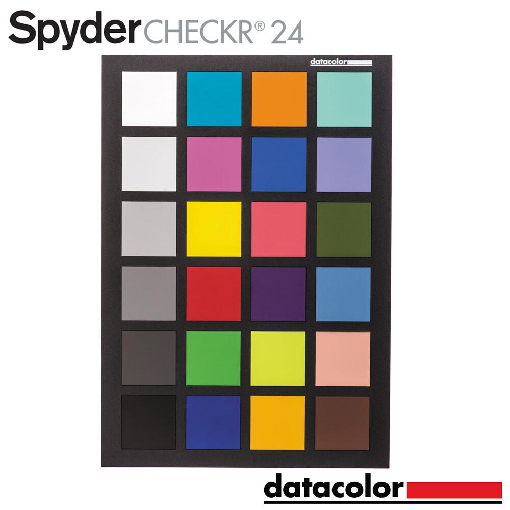 datacolor spyder checkr 24 色卡 智慧色彩調整工具