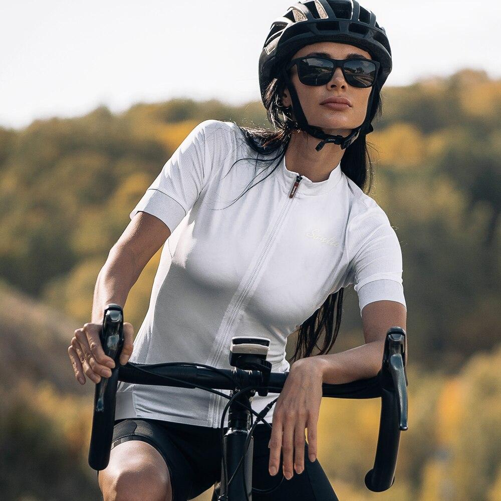 Santic 森地客女士騎行運動速乾短袖上衣 L0C02156 S-3XL