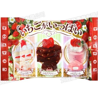 松尾 綜合草莓風味代可可脂巧克力(54g)