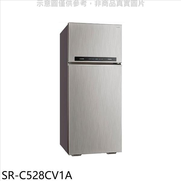 三洋【SR-C528CV1A】528公升三門變頻冰箱 優質家電