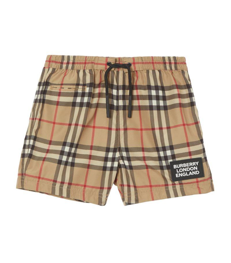 Burberry Kids Vintage Check Swim Shorts (6-24 Months)