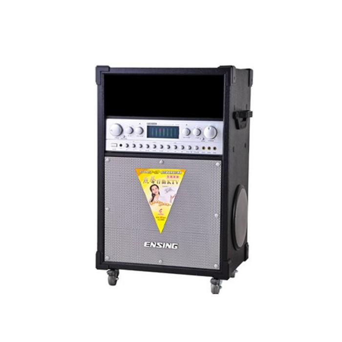 燕聲ENSING ES-580 木紋 立體行動KTV 雙VHF無線麥克風 公司貨享保固《名展影音》