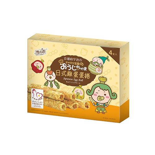 茶茶小王子日式雞蛋蛋捲72g【愛買】