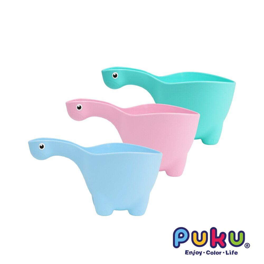 藍色企鵝 PUKU 恐龍水瓢-水色