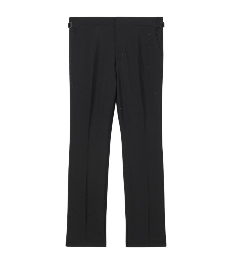 Burberry Crystal Embellished Tailored Trousers