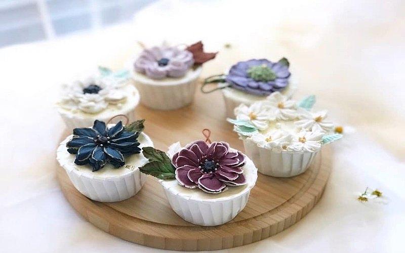 【手作課】美夢系列-裱花杯子蛋糕