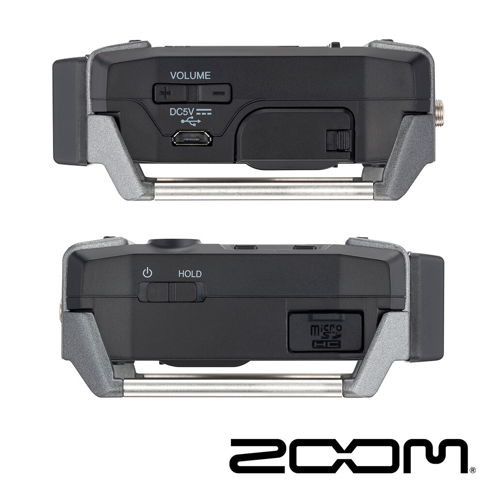 zoom f1-lp 領夾式麥克風 錄音機