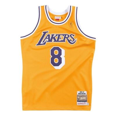 M&N Authentic球員版復古球衣 湖人隊 96-97 #8 Kobe Bryant