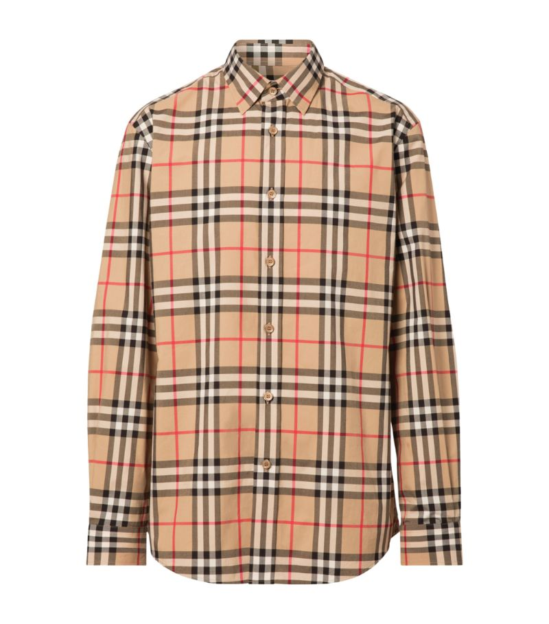 Burberry Cotton Check Shirt