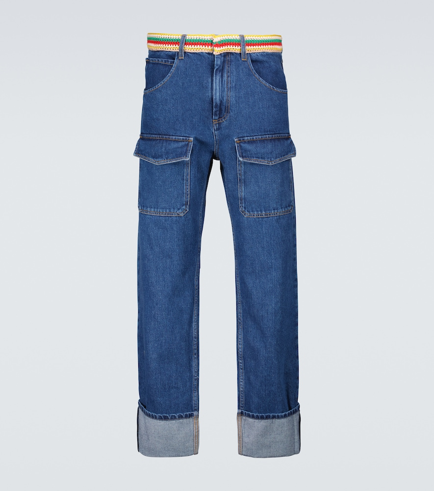 Brixton patch pocket jeans