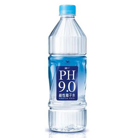 統一PH9.0鹼性離子水800ml