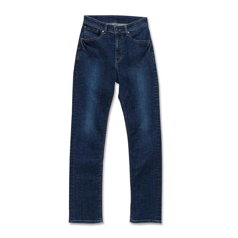 中直筒牛仔褲-男(短、中、長版) 中古藍
