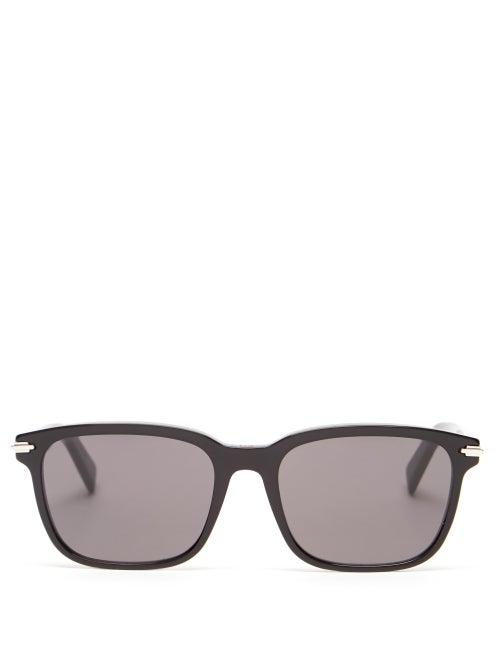 Dior - Blacksuit Square Acetate Sunglasses - Mens - Black