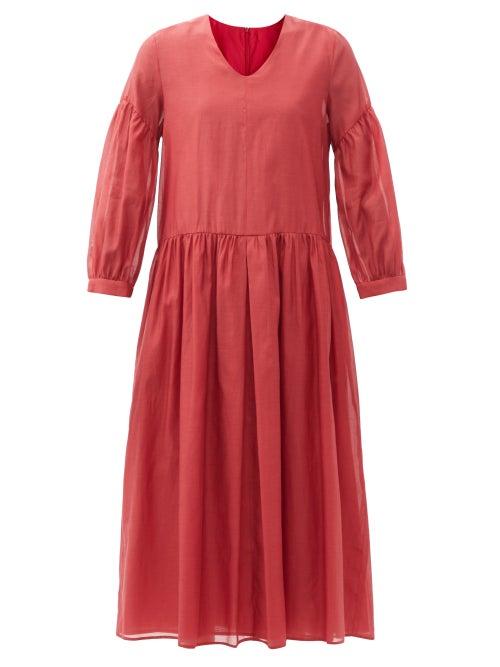 S Max Mara - Adorno Dress - Womens - Red
