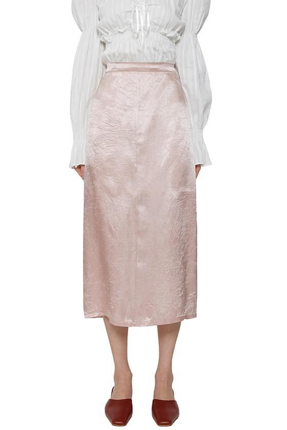 韓國空運 - Robin satin midi skirt 裙子