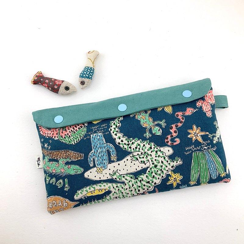 Switch 厚厚鋪棉收納包— 遊戲片小口袋設計