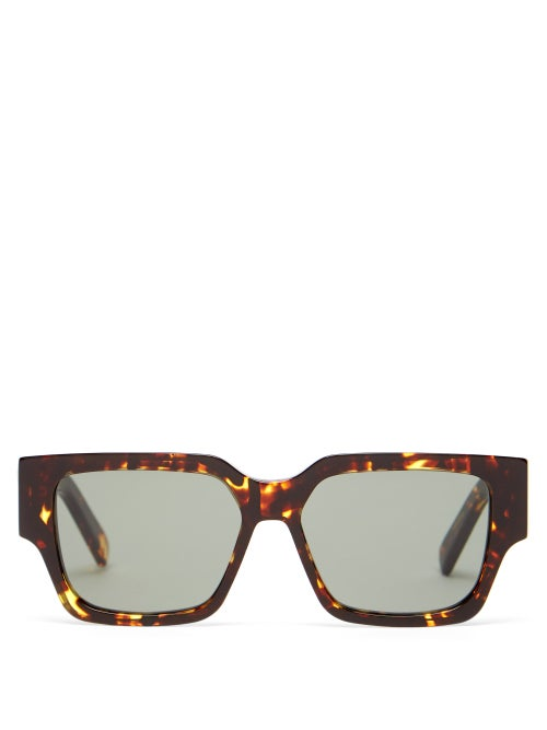 Dior - Cd Square Acetate Sunglasses - Mens - Tortoiseshell