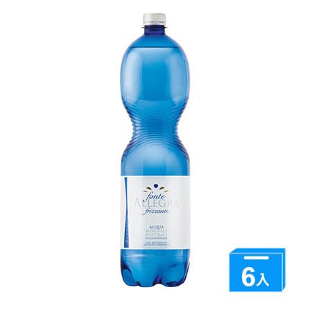 義大利亞莉佳氣泡礦泉水1500mlx6