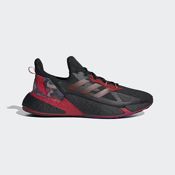Adidas X9000l4 [GZ8987] 男鞋 運動 休閒 慢跑 透氣 靈活 支撐 抓地力 穿搭 愛迪達 黑 紅