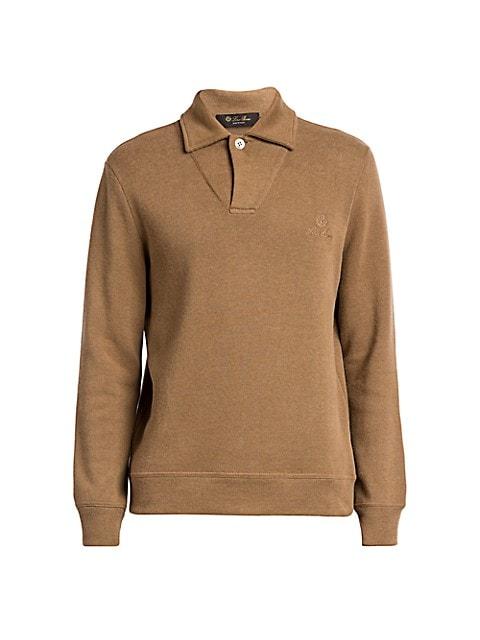 Horsey Pique Open Polo Shirt