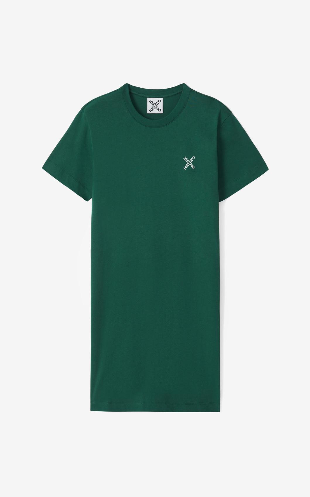 KENZO Robe t-shirt KENZO Sport 'Little X'